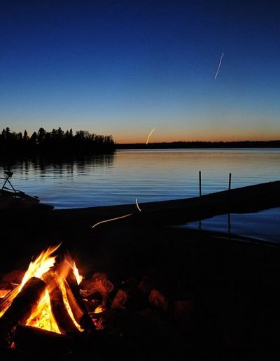 Evening Bonfire Infront of your Cottage